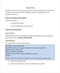 memo format 15 free word pdf documents download free