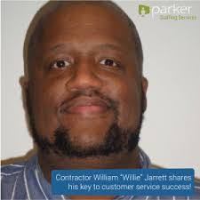Temp Agency   Staffing and Employment   Parker Staffing Services Parker Contractor  William Jarrett Says Sharing Happiness is Key to Customer Service Success