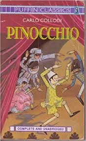 pinocchio complete unabridged puffin classics carlo