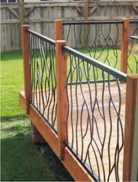 Railings And Banisters Ideas 20 Creative Deck Railing Ideas For Inspiration Decking Iron