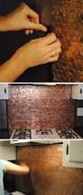 Penny Kitchen Backsplash 25 Frugal And Creative Kitchen Backsplash Diy Projects Hative