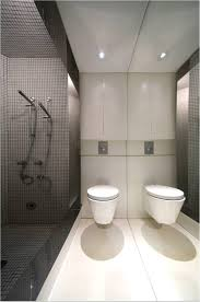 glass walls bathroom splendid modern shower design idea with thick glass