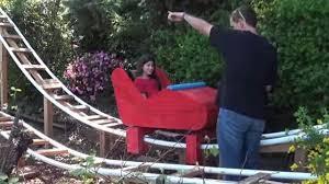 coasterdad u0027 builds awesome backyard roller coaster rtm