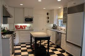 track lighting galley kitchen warm home design
