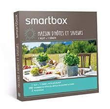 mysmartbox fr chambre et table d hotes smartbox coffret cadeau maison d hôtes et saveurs amazon fr
