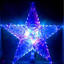 led morphing tree topper northern lights and trees