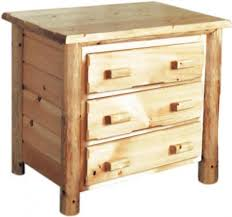 Rustic Pine Nightstand Rustic U0026 Live Edge Bedroom Furniture Clear Creek Amish Furniture