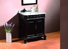 31 Bathroom Vanity by Deco Single 31 Inch Traditional Antique Black Bathroom Vanity