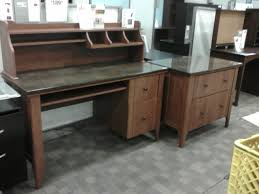 sauder appleton computer desk hutch u0026 lateral file sauder
