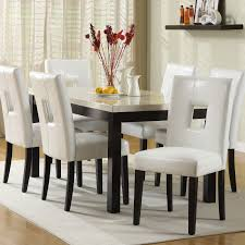 lane dining room furniture chelsea lane archibald 7 piece white dining set 60 in walmart com