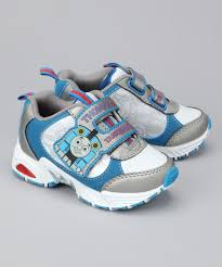 thomas the train light up shoes gray white thomas the tank engine light up sneaker zulily