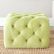 ottomans lime green storage ottoman mint slipcover teal