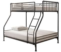 Full Sized Bunk Bed by Hillsdale Brandi Twin Full Size Bunk Bed Navy 2124btf