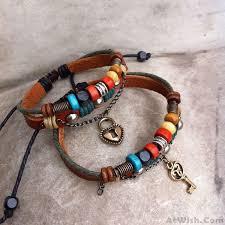 bracelet handmade leather images Handmade leather weave lovers bracelets fashion bracelets jpg