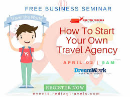 how to start a travel agency images Start your own homebased travel agency by red tag travels jpg