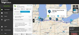 trip map maps mania the rand mcnally trip planner