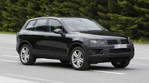 volkswagen touareg interior 2015 2015 volkswagen touareg facelift spied for the first time