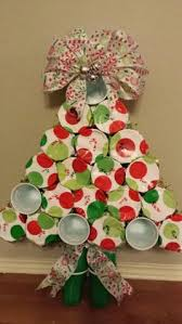 christmas tree punch out game glue 23 green solo cups fill