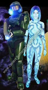 Halo Halloween Costumes Coolest Homemade Halo 3 Master Chief Cortana Costumes Master