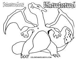 printable pokemon charizad coloring pages gekimoe u2022 15075