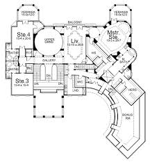 villa plans villa cornaro 6044 4 bedrooms and 4 baths the house designers