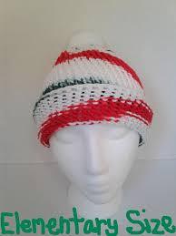mistletoe hat knitted christmas mistletoe hat elementary size style
