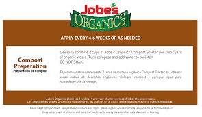 amazon com jobe u0027s organics compost starter 4 4 2 organic