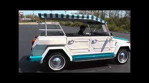 1974 volkswagen thing 1974 volkswagen thing acapulco edition youtube