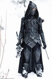 Skyrim Halloween Costume Skyrim Armor Nightingale Bow Sword