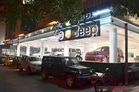 indian police jeep fca india opens destination store fiat jeep abarth all in one