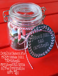 chocolate oreo cookie ornaments for