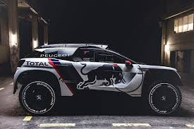 peugeot brand peugeot unveils new rallye raid contender the 3008 dkr