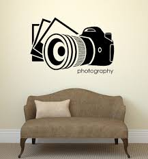 cinema vinyl wall decal photo photography salon art photographer