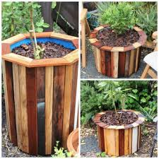 How To Make Planters by How To Make Stylish And Low Cost Planters Homestead U0026 Survival