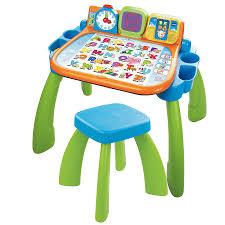 bureau tableau enfant magi bureau interactif 3 en 1 vtech jouets 1er âge tableaux et