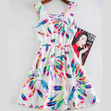 bureau de style mode robe imprimer casual vintage femme robes bureau de mode de