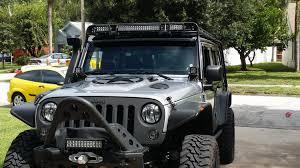led light bar jeep wrangler raxiom wrangler 13 5 in row led light bar flood spot
