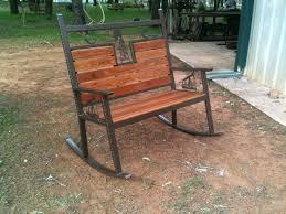 metal rocking patio chairs retro outdoor metal lawn patio porch