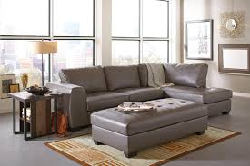 Costco Sofa Sleeper Furniture Gray Leather Ottoman With Gray Costco Leather Sofa And