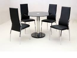 black frosted glass dining table dining table design ideas