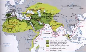 Turkestan Map Ibn Battuta Map Image Gallery Hcpr