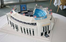 yankee stadium home run lights hit a home run with a yankee stadium cake for your candle lighting