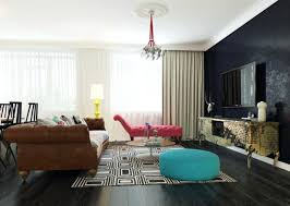 image of dark living room paint ideas decorating brown leather