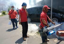 Sisir Indo sisir sarang dbd rescue perindo tangsel fogging ratusan rumah di