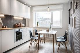 Small Apartment Kitchen Designs by Tiny Apartment With Scandinavian Inspired Interior Design