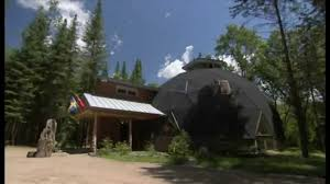 Dome Home by Geodesic Dome Home World U0027s Greenest Homes Youtube