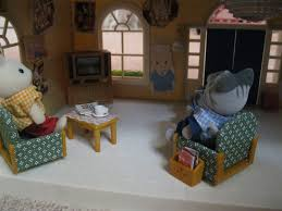 Calico Critters Living Room by Dolly Sisters My Calico Critters Collection