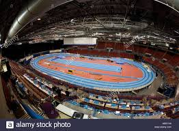 Nia Floor Plan Nia Birmingham Indoor Athletics Track Stock Photo Royalty Free