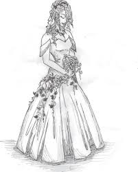 drawing wedding dresses wedding dress pretty dress pencil and in color