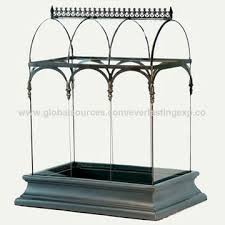 india table top black metal and glass terrarium for home and